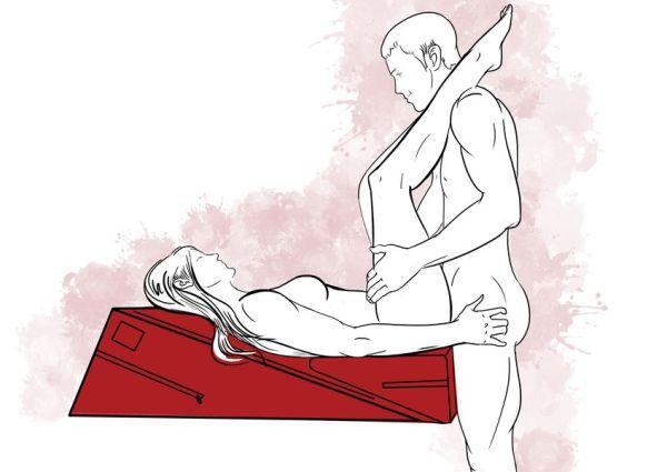 Позы в сексе на подушке Liberator Combo
